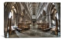 The Cathedral, Canvas Print