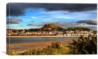 Across the Conwy River Estuary, Canvas Print