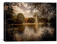 Over the Thames to Bisham, Canvas Print