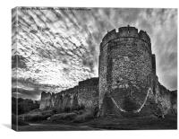 Chepstow Castle, Canvas Print