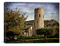 St Margarets Church Burnham Norton, Canvas Print