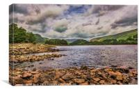 Thirlmere Looking North, Canvas Print