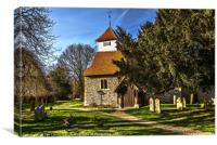 Sulhamstead Abbots Church of St Mary, Canvas Print