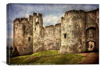 The Castle Gatehouse, Canvas Print