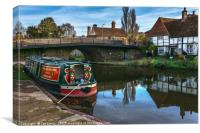 Hungerford Wharf, Canvas Print