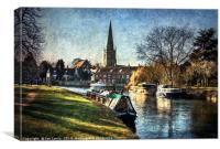 Abingdon on Thames, Canvas Print