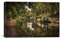 The Kennet and Avon at Pewsey, Canvas Print