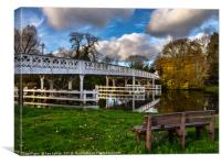 Whitchurch Toll Bridge, Canvas Print