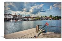 Prepared For Rowing At Henley, Canvas Print