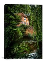 House By The River, Canvas Print