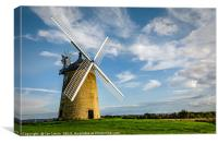 Great Haseley Windmill, Canvas Print