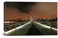 St. Paul's Cathedral - London, Canvas Print