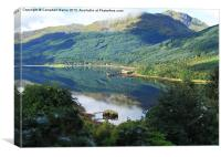 Arrochar, Canvas Print