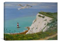 """Beachy Head"", Canvas Print"
