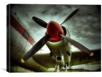 Propeller, Canvas Print