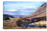 Glen Nevis Scotland, Canvas Print