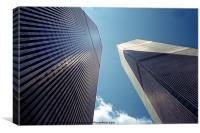 The Twin Towers - Homage To 9/11, Canvas Print