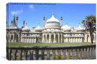 The Royal Pavilion Brighton England, Canvas Print