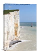 Seven Sisters From The Top Of The Cliffs, Canvas Print