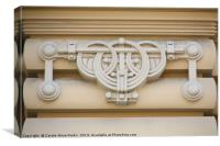 Art Nouveau Architecture, Canvas Print