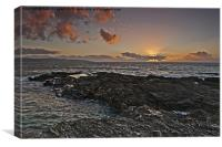 Gwithian Sunset, Canvas Print