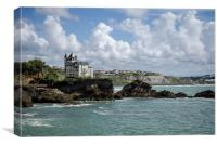 Biarritz in May, Canvas Print