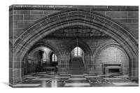 Lady Chapel Arch, Liverpool Anglican Cathedral, Canvas Print