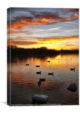 Pennington Flash, Canvas Print