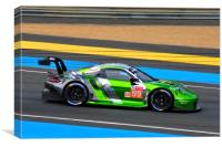 Porsche 911 RSR sports car, Canvas Print