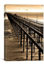 Southend on Sea Pier Essex England, Canvas Print