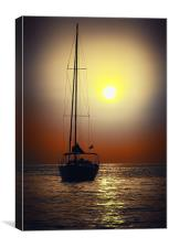 Cafe Del Mar- At Sunset....., Canvas Print