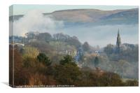 View From Holcombe Hill, Canvas Print