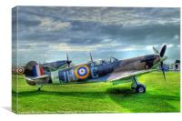 Twin Spitfires, Canvas Print