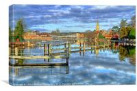 Good Morning Marlow, Canvas Print