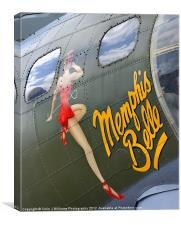"""Memphis Belle"", Canvas Print"