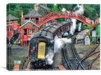 Goathland station, Canvas Print