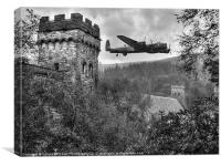 A Tribute To The Dam Busters, Canvas Print