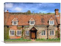 Turville - A Much Used Film Location - 3, Canvas Print