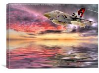 Dawn Patrol - Tornado GR4, Canvas Print