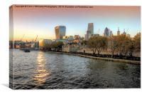 City Of London from Tower Bridge, Canvas Print