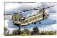 RAF Odiam Display Chinook 3 - Dunsfold 2014, Canvas Print