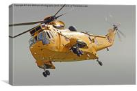 Rescue Hero The Westland Sea King, Canvas Print