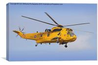The Westland Sea King, Canvas Print