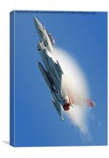 Afterburners On - Eurofighter Typhoon, Canvas Print