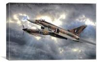 Spitfire and Typhoon Battle of Britain 2, Canvas Print