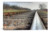 On The Right Track 2, Canvas Print