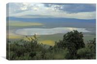 Ngorongoro Crater, Canvas Print