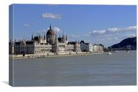Hungarian Parliament building , Canvas Print