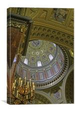 St Stephen's Dome , Canvas Print