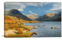 Great Gable, Canvas Print